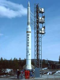 Fusée-sonde Maxus